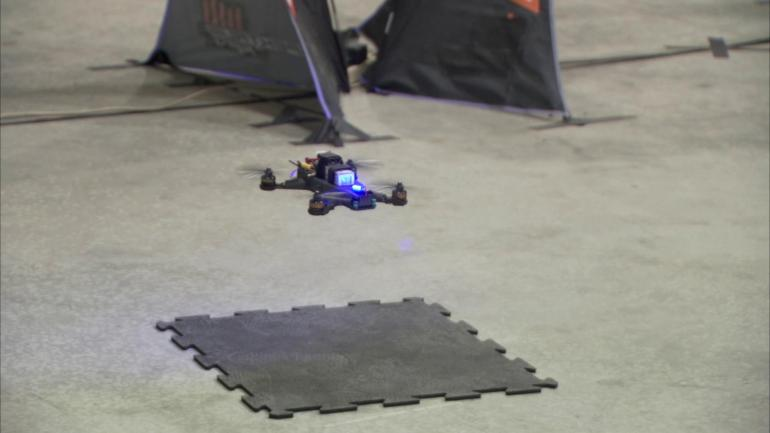 Drone Race: Human Versus Artificial Intelligence