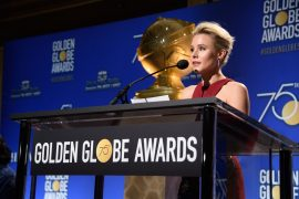 Kristen Bell announces nominations for 75th Golden Globes.