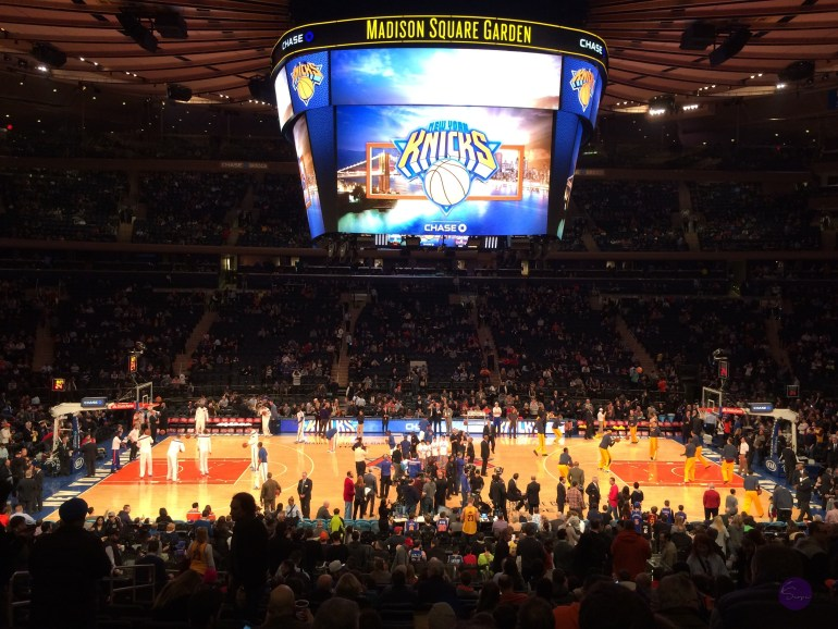 New York Knicks Madison Square Garden