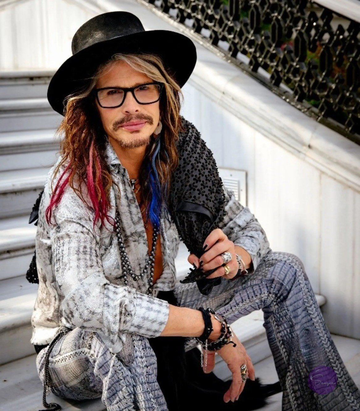 Steven Tyler Photo by Zack Whitford (PRNewsfoto/Los Angeles Police Memorial...)