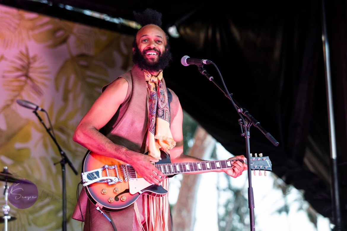 Fantastic Negrito. (Copyrighted 2018. The Scope Weekly/Neil Van)