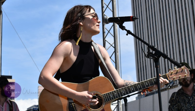 Hannah Harber. Gasparilla Music Festival March 10, 2019 - LP Farkas for The Scope Weekly