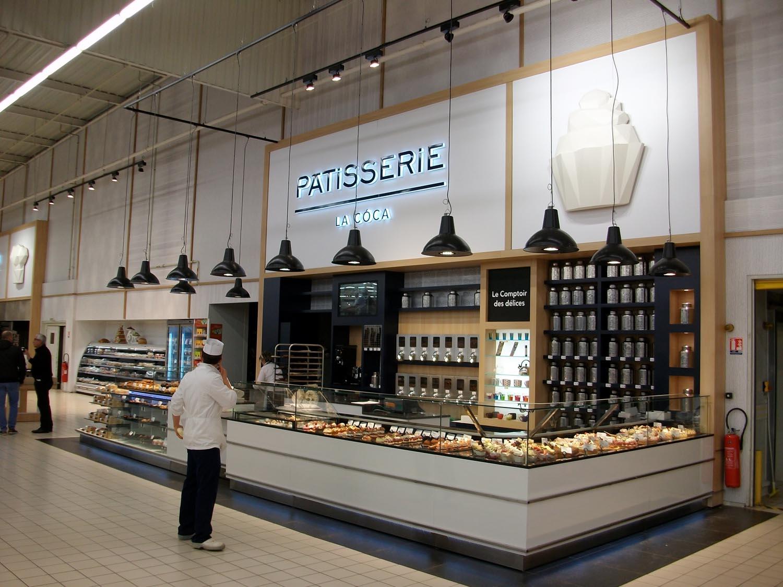 Mobilier rayon boulangerie p tisserie en gms scop laporte - Decoration boulangerie patisserie ...