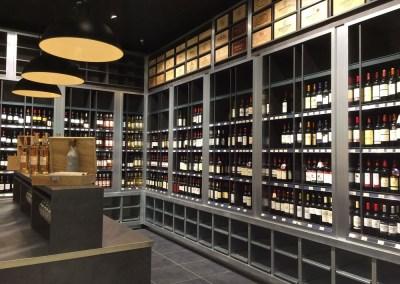 Laporte - rayon cave à vins