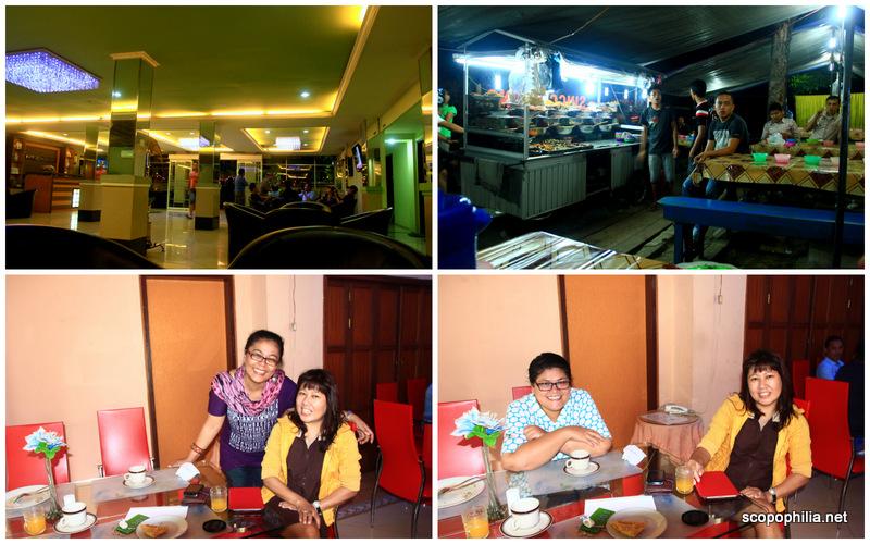 Nginep di Hotel Mariani tapi makan malam tetep cari keluar, maunya masakan rumahan :D