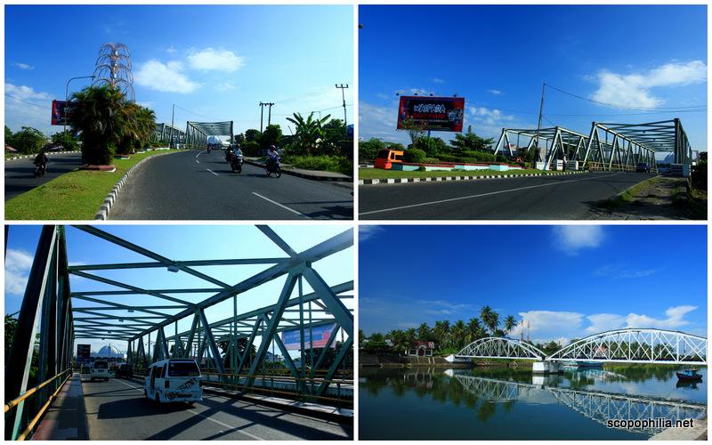 Bentuk Jembatan  yang khas di Sumatra Barat
