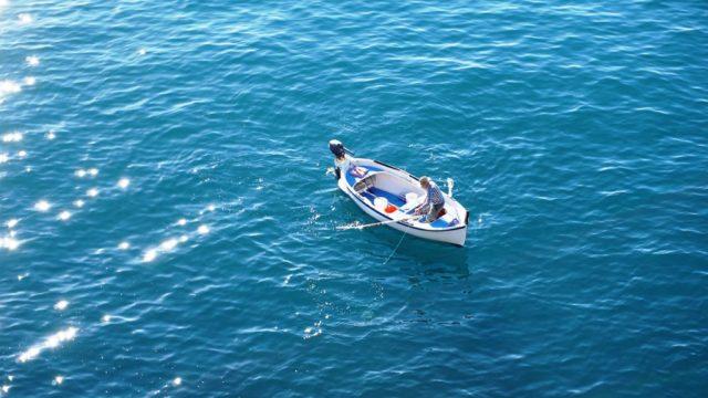 Pescatore a Manarola