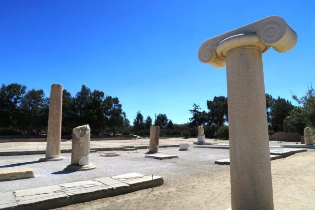 Naxos: il tempio di Dioniso