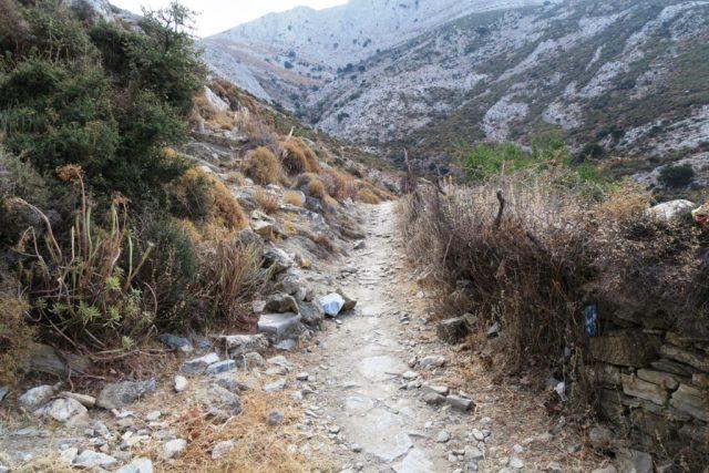 Naxos : il sentiero per Zas