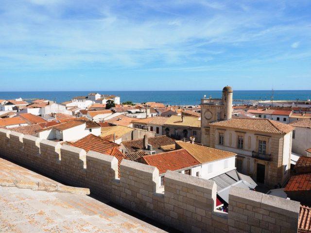 Les-Saint-Maries-de-la-Mer: panorama sulla città