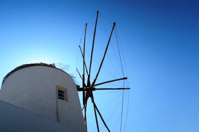 Oia - mulini a vento
