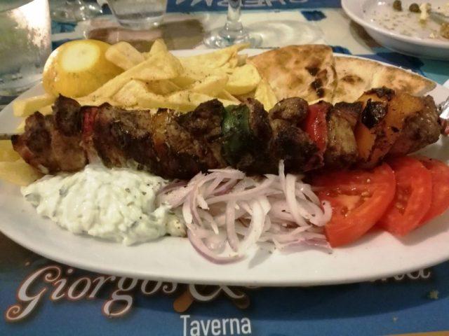 Cosa mangiare in Grecia - Souvlaki