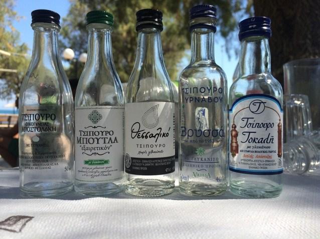 Cosa bere in Grecia - liquori