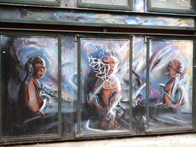 street art a Londra