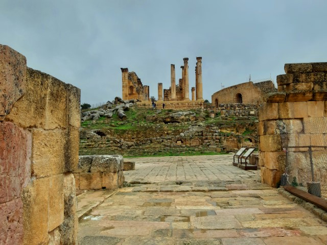 cosa vedere a Jerash