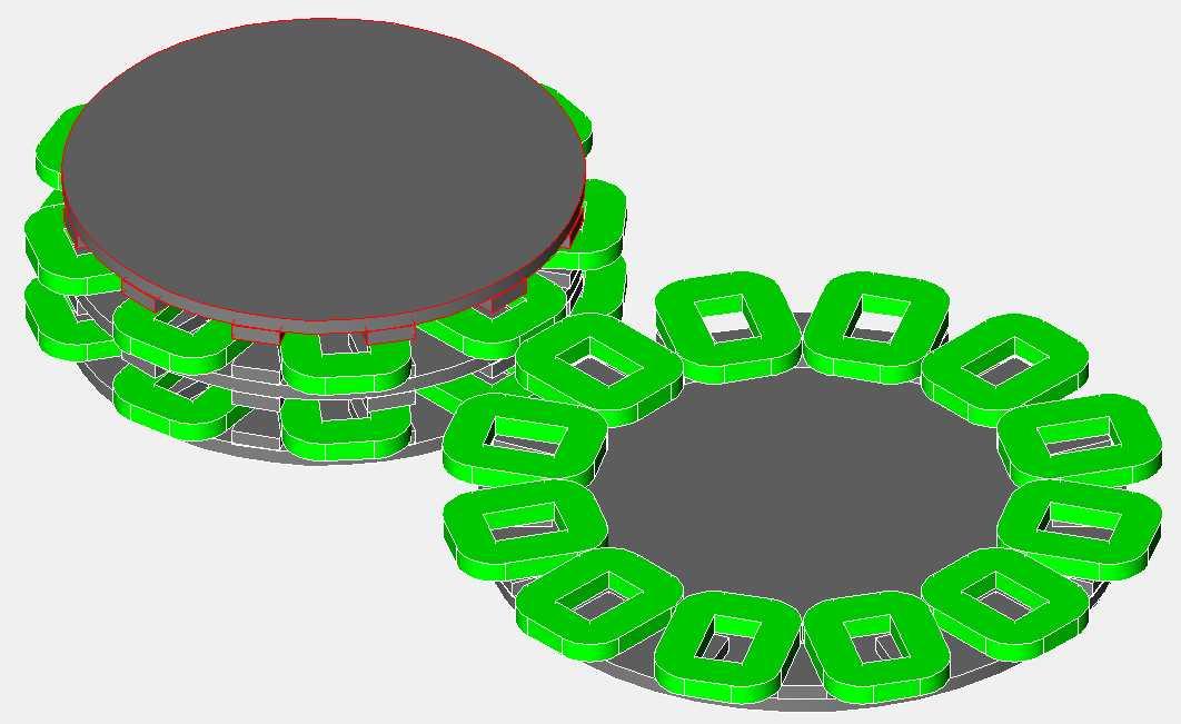 Axial Alternators With Dual Stators Hugh Piggott S Blog