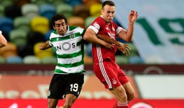 SPORTING VENCE ABERDEEN E ESTÁ NO PLAY-OFF