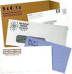 custom envelopes scorecards unlimited