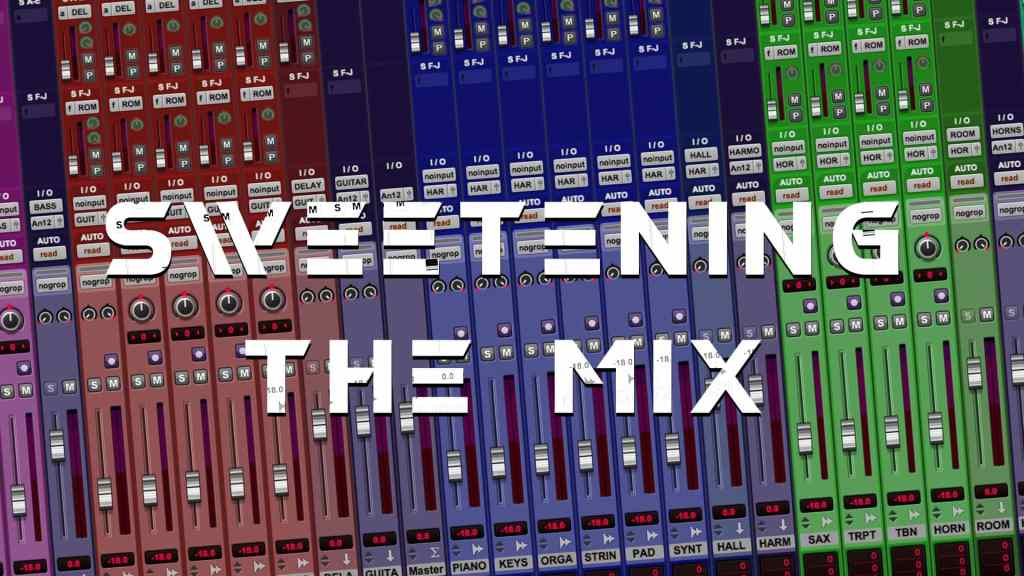 Sweetening the Mix