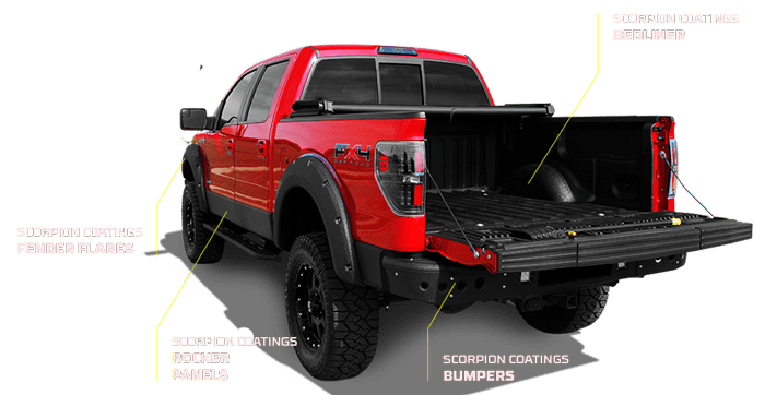 Make Your Truck Stand Out on the Road With Custom Colored Bed Liners