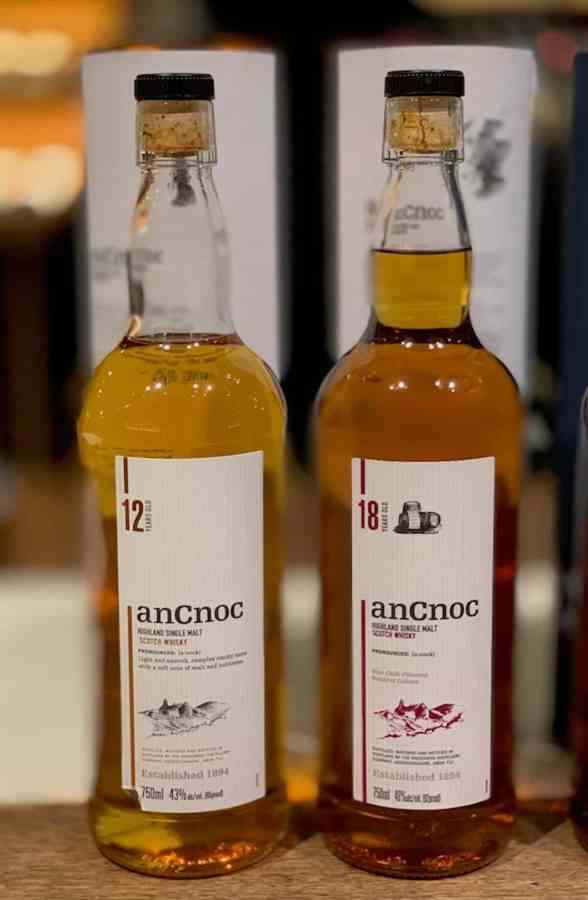AnCnoc Highland Single Malt, worm tubs, AnCnoc