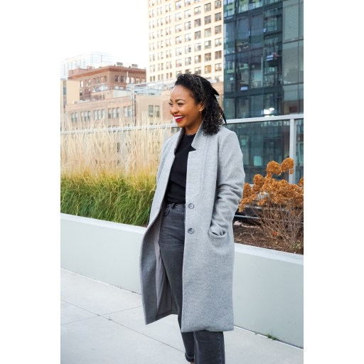 2020 Holiday Gift Guide - Old Navy Coat - Scotch and the Fox
