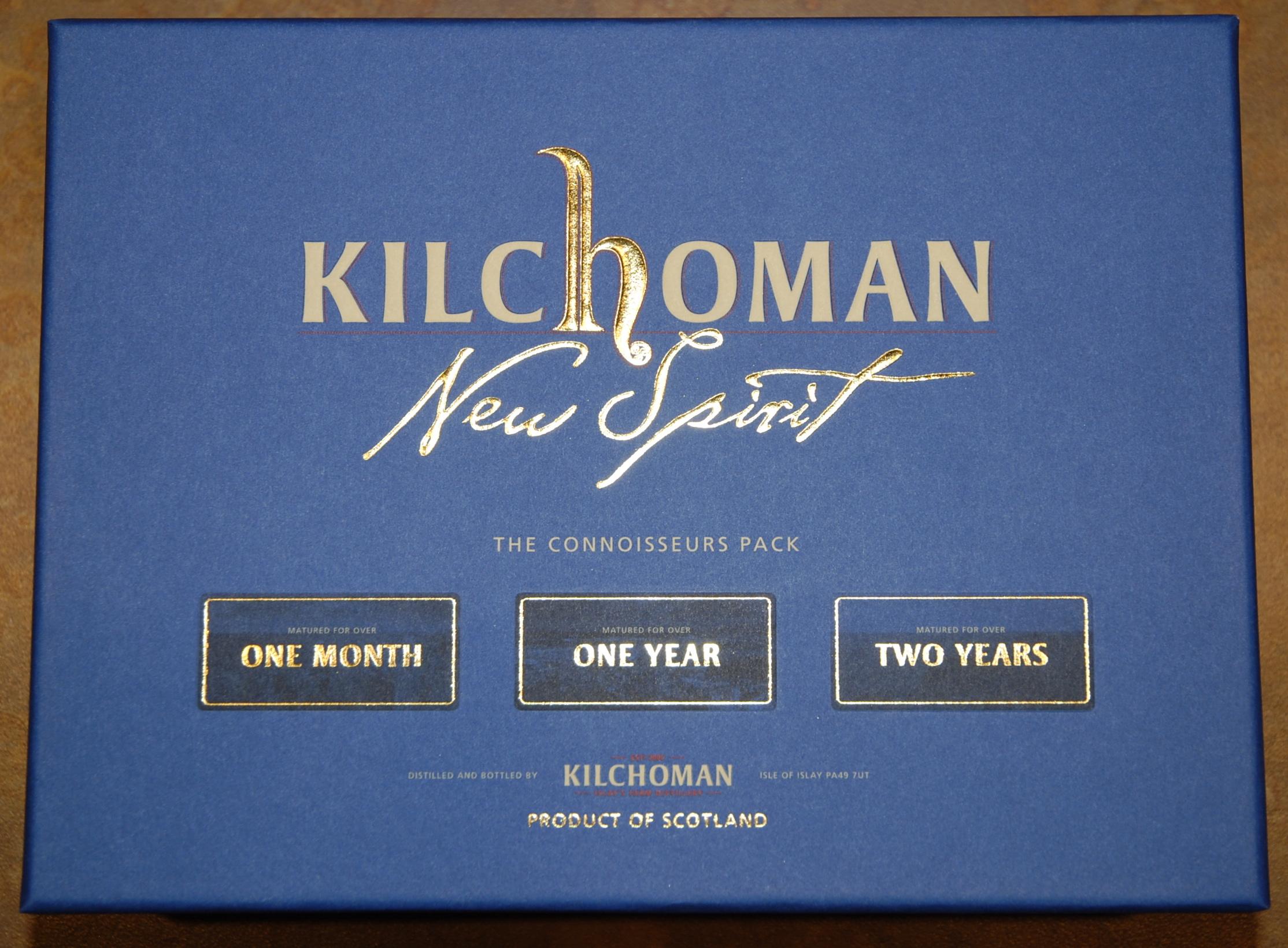 Kilchoman Connoisseurs Pack box