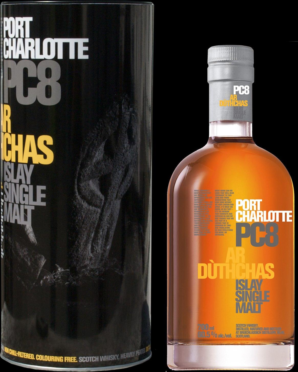 Port Charlote PC8 - Whisky Fringe award winner