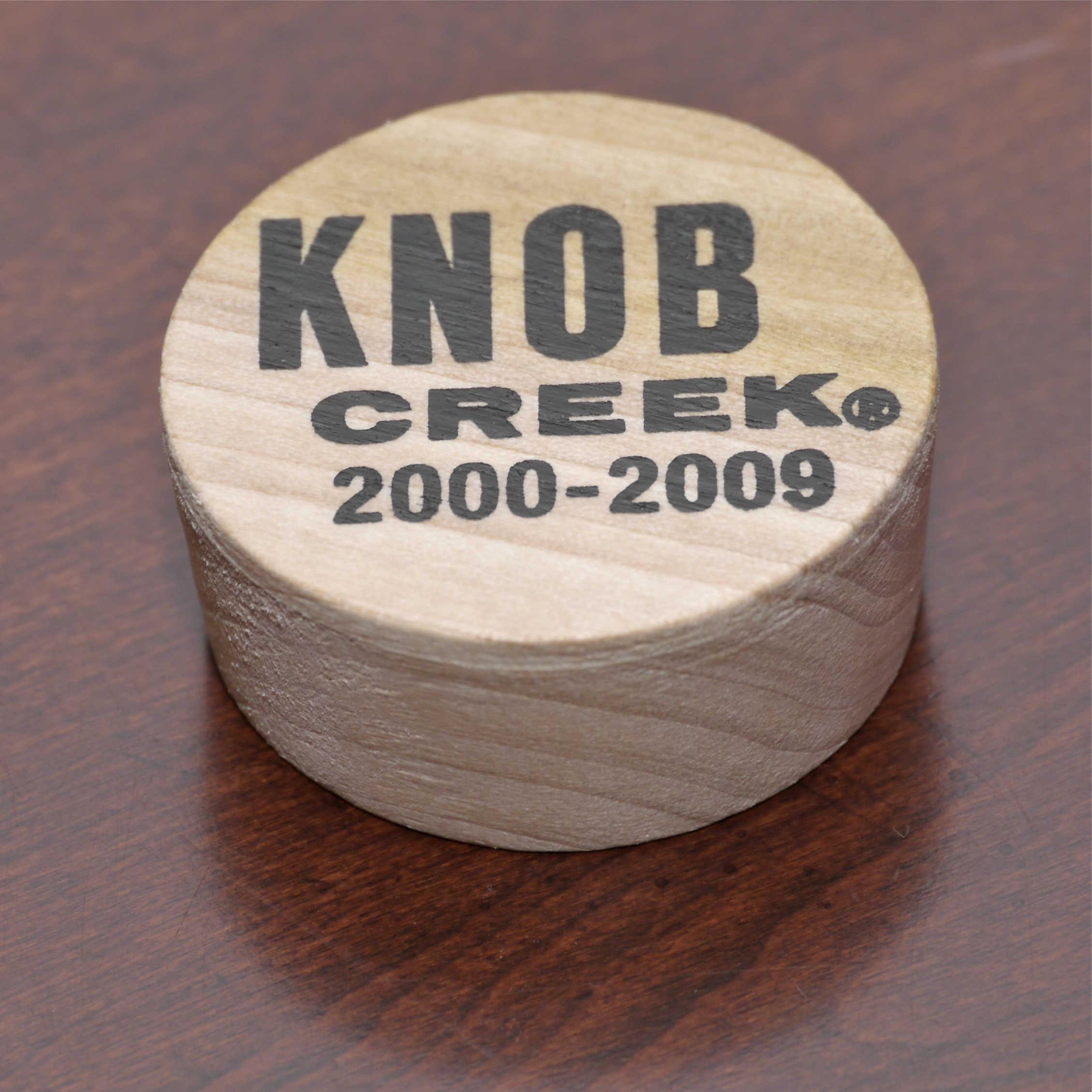 Knob Creek commemorative barrel bung