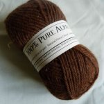 Alpaca Yarn / Alpaca Wool - Brown