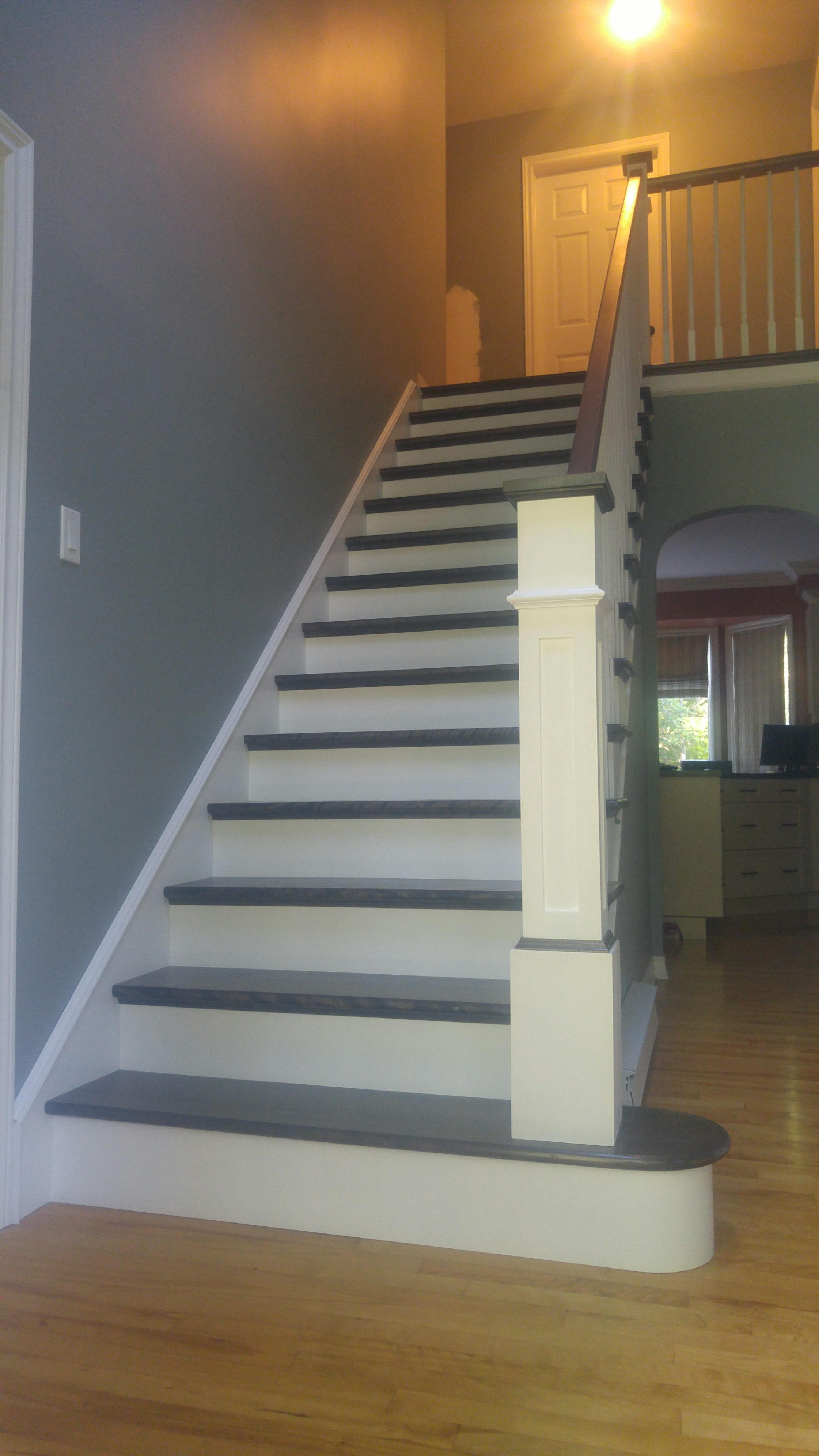 Breathing Life Into An Older Staircase Scotia Stairs Ltd