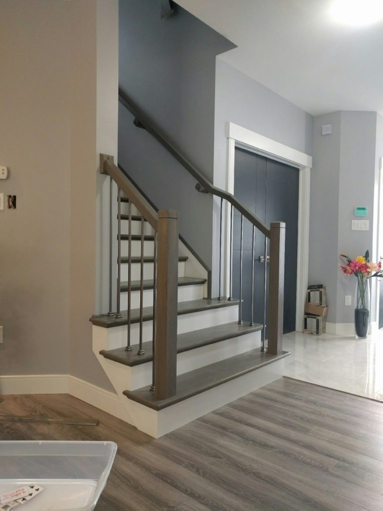 Stairs Stair Parts Supplier Treads Posts Rails And Balusters   Cost Of New Banister And Spindles   Chris Loves Julia   Stair Parts   Stair Treads   Paint   Iron Stair
