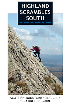 Highland Scrambles South - SMC Guide Book Cover