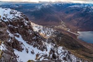 West Side of Corrag Bhuide - Down