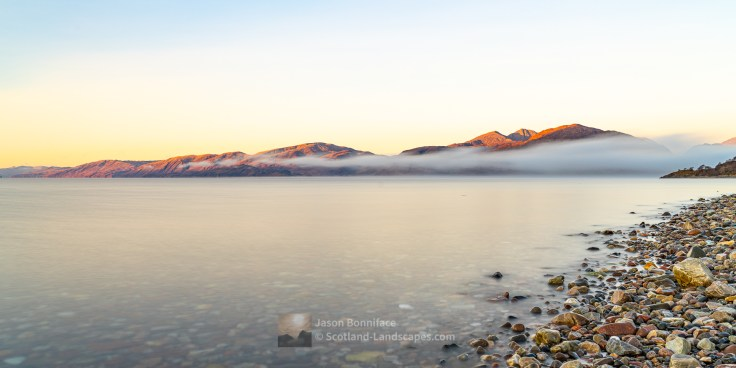 Sunrise - Loch Linnhe & Garbh Bheinn