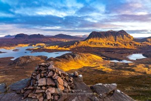 North East from Stac Pollaidh, Assynt & Ullapool