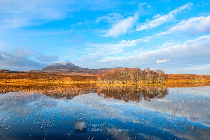 Canisp Reflections Loch Awe, Assynt & Ullapool