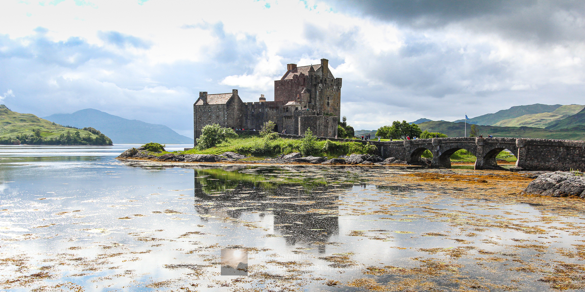 The Iconic Eilean Donan Castle in Summer, Lochalsh & Knoydart
