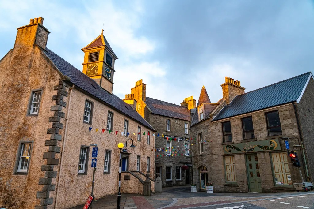 The Tolbooth & Queens Hotel, Lerwick, Shetland