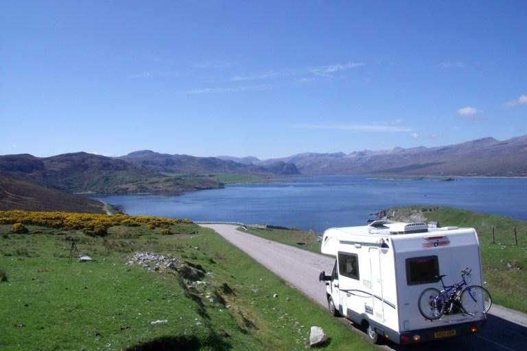 Scozia campeggio