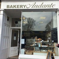 Bakery Andante, an adorable bakery not too far from the Green's house. Best flaky/buttery pastries I've had in the UK!