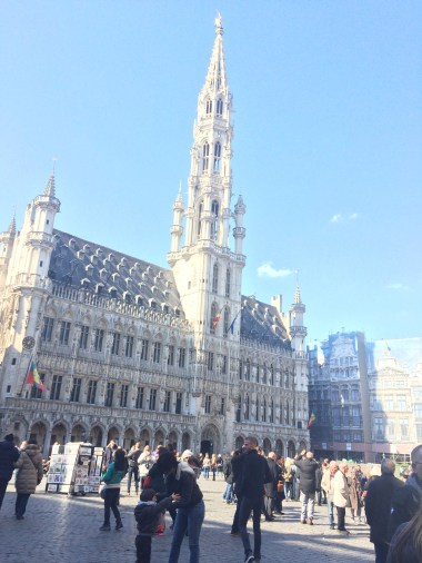 Brussels Town Hall, 15th Century construction