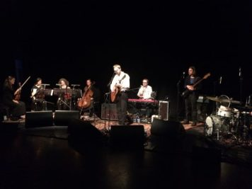 Playing with a band and quartet- so beautiful. Absolutely loved this venue but failed to take pictures of it.