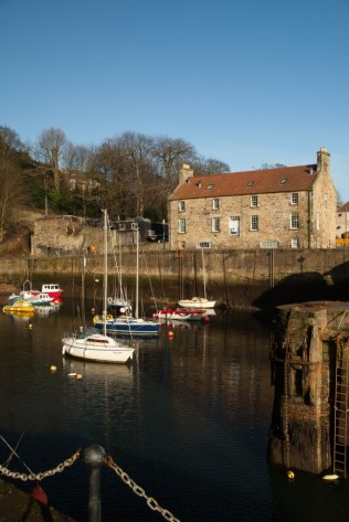 Dysart Harbour. ©Fife Coast and Countryside Trust
