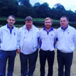 Fours Winners - Alister Kennedy, Kevin Thomson, Chris O'Brien & Gary Landells of West Barns