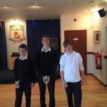SYBA Triples Winners (Aberlady)