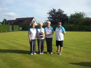 East Lothian Ladies Champion of Champions Fours Winners