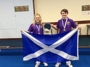 Megan Kivlin & Dean Riva - Scotland U17s