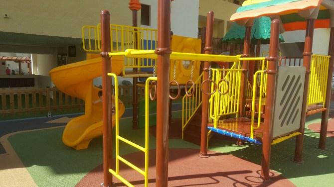 Playground in the sun