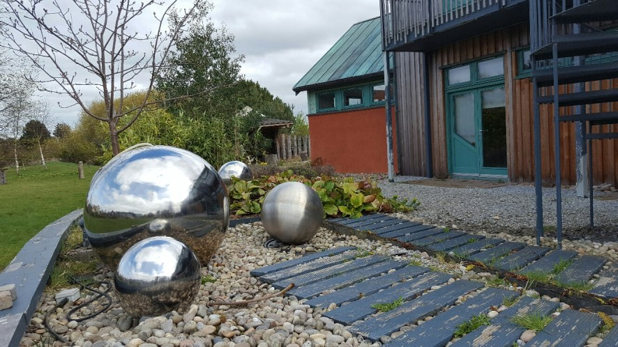 Intriguing spaces and places at the Findhorn Foundation